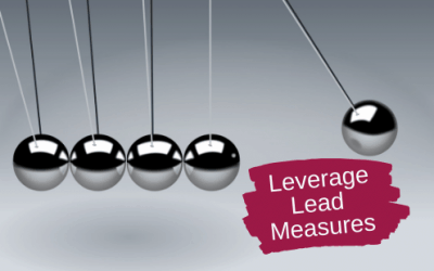 The Measurements that Drive Results: Leveraging Lead Measures
