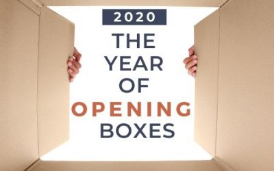 2020: The Year of Opening Boxes