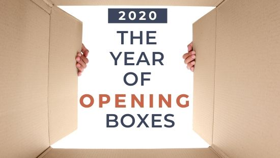 2020 Opening Boxes