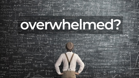 Feeling Overwhelmed?  Give Your Brain a Challenge it Can Solve